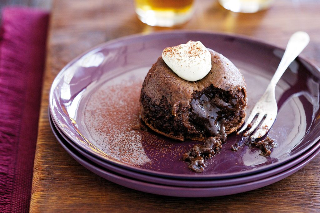Lava Cakes Chocolate