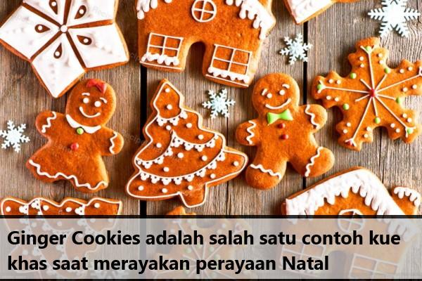 Contoh Kue Natal Ginger Cookies